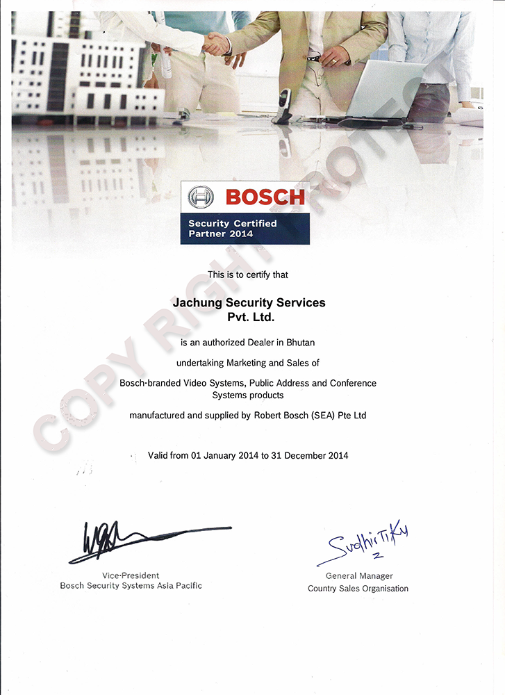 Bosch Security/PA & Conferencing Systems